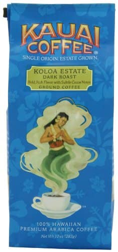 Kauai Coffee Dark Roast Ground - 10 Ounce Package - $4.76/$5.14 AC & S&S ($4.13/$4.45 AC & 5 S&S Orders) - Amazon.com