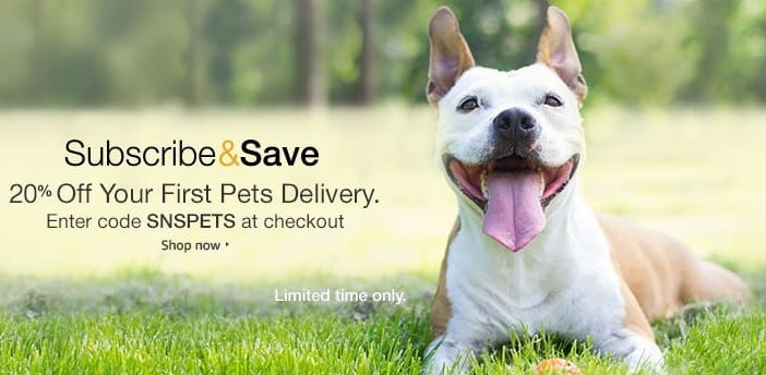 20% Off First Pets Subscribe & Save Delivery at Amazon With Code - YMMV