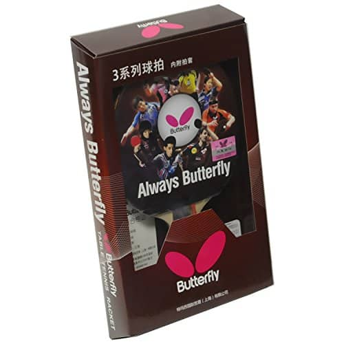 Butterfly 303 Shakehand Table Tennis Racket - $10.94 AC + Free Prime or SSS - Amazon.com