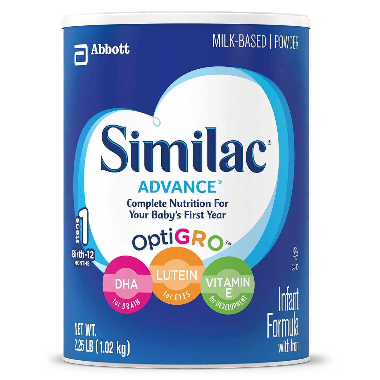 3 Pack of 36 Ounce Containers of Similac Advance Infant Formula with Iron Powder - $67.11 AC & S&S ($55.93 AC & 5 S&S Orders) + Free Shipping - Amazon