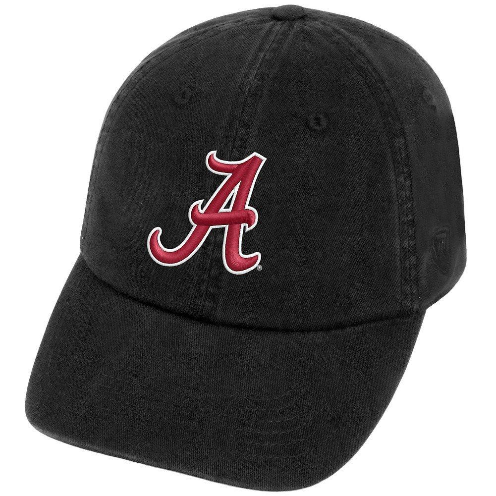 University of Alabama NCAA Men's Adjustable Hat Relaxed Fit Black Icon Model - $5.99 AC - Amazon.com