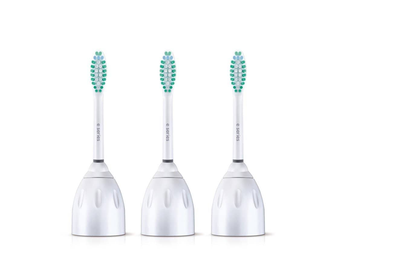 3 Pack Philips Sonicare E-Series Replacement Toothbrush Heads (HX7023/30) - $13.05 AC & S&S ($11.15 AC & 5 S&S Orders) + Free Shipping - Amazon