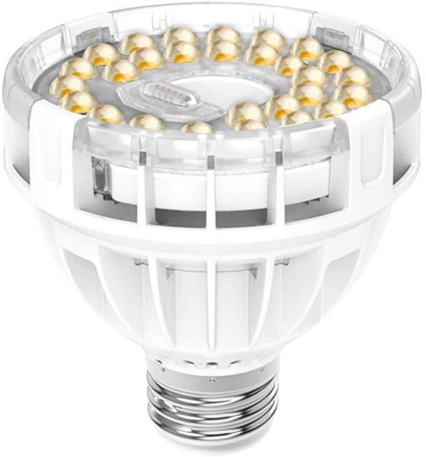SANSI Daylight LED Grow Light Bulb, 10W Full Spectrum Sunlight LED Grow Lights- Amazon - $9.99AC FS