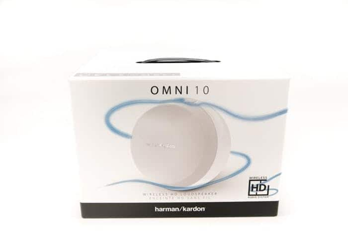 Harman Kardon Omni 10 Streaming HD Speaker w/ Bluetooth – White (HKOMNI10WHTEU) $49