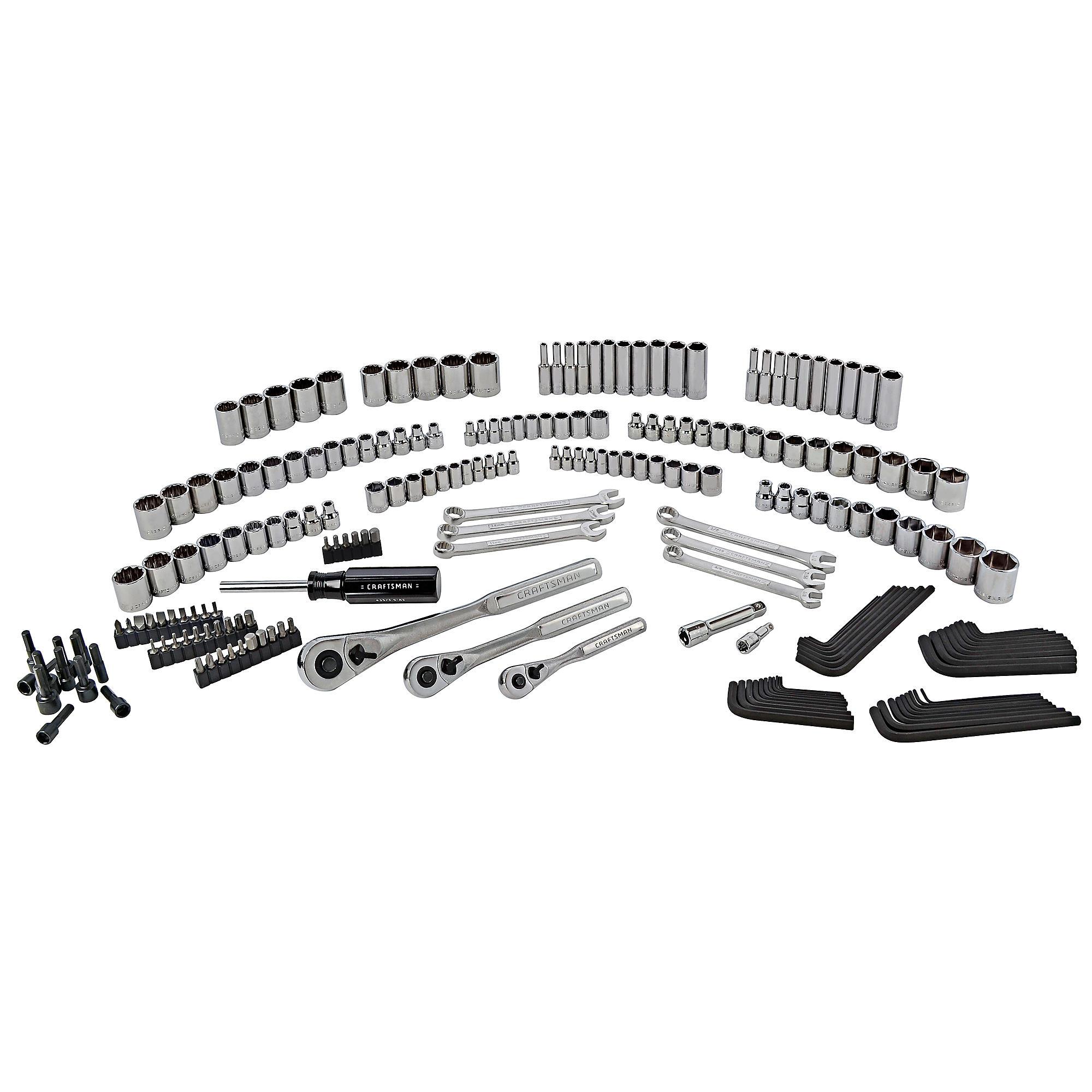 Sears Craftsman 216 Piece Mechanics Tool Set $80.99, $30.25 back in SYW rewards & free shipping