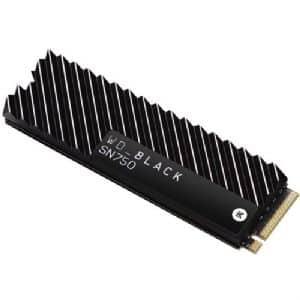 WD Black SN750 1TB NVMe SSD w/ heatsink $99.99 free shipping Tiger Direct Business