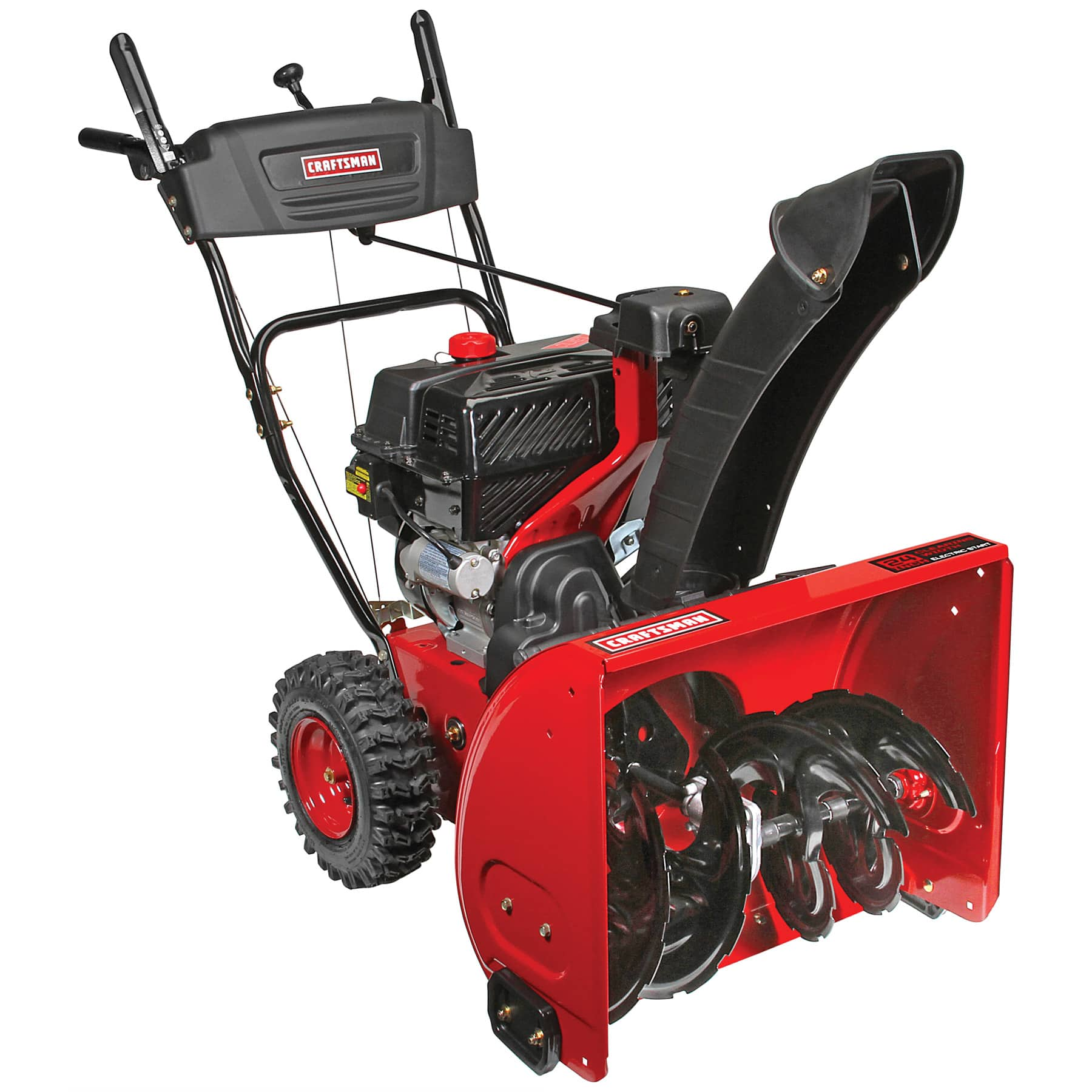"""Sears Craftsman 208CC 24"""" quiet 2 stage snowblower $421.99 free pickup $100 back in SYW points and others"""