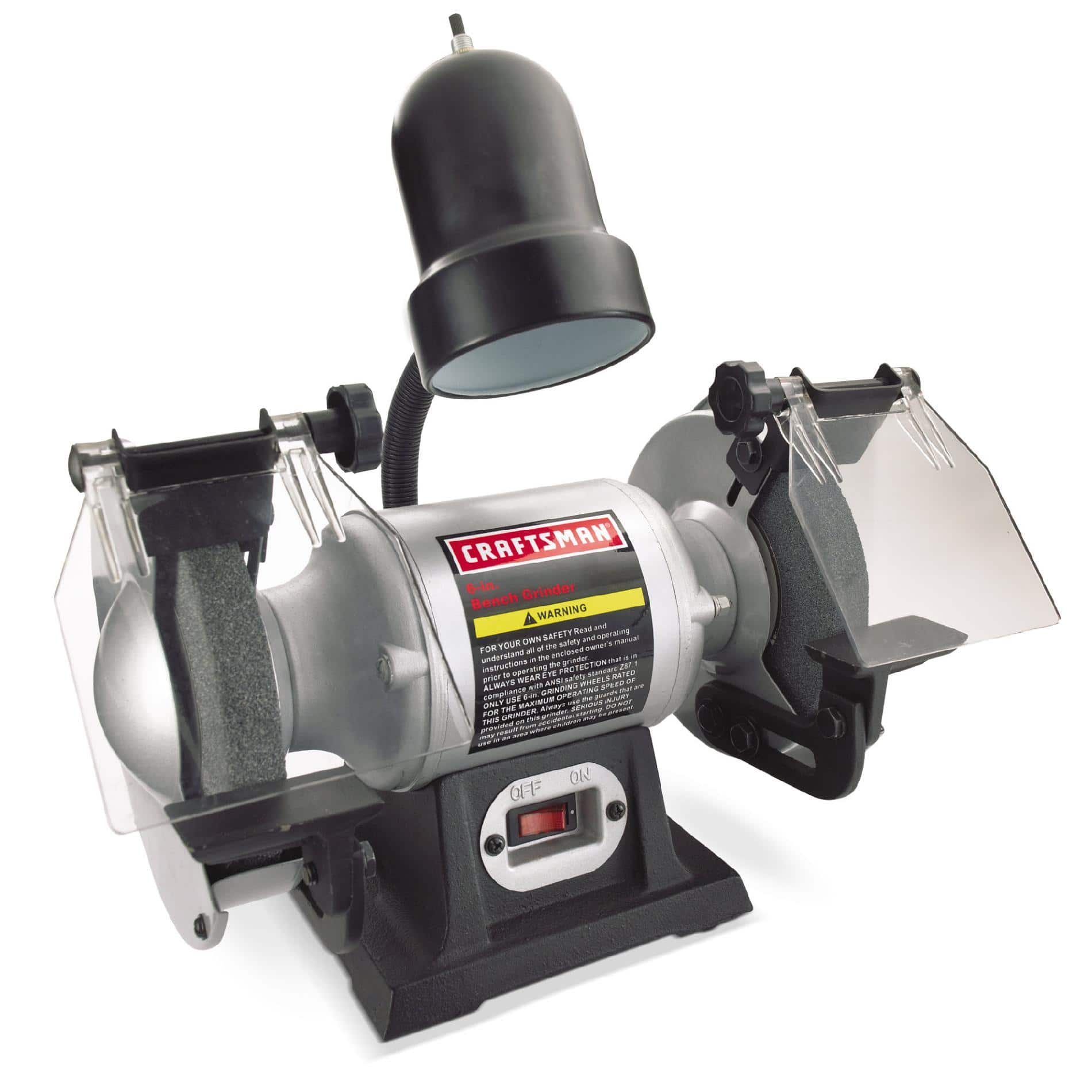 "Craftsman 1/6 hp 6"" bench grinder w/ lamp $39.94 or less free pickup Sears"