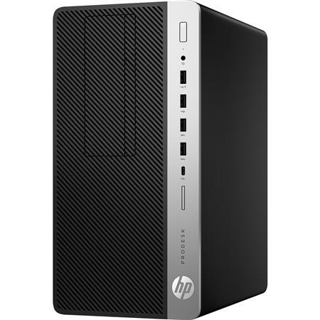 HP ProDesk 600 G3 Micro Tower Desktop Computer, Intel Core i5-7500 3.40GHz, 8GB RAM, 1TB HDD, Windows 10 Pro $429