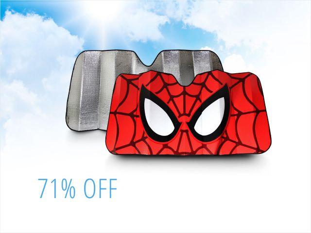 Plasticolor Sunshades: Spider-Man, Batman, Avengers,Starwars and more $9.99 free shipping @ Newegg flash