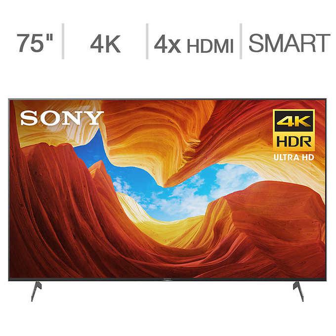 """Costco: 75"""" Sony XBR75X90CH 4K UHD LED TV $1,769"""