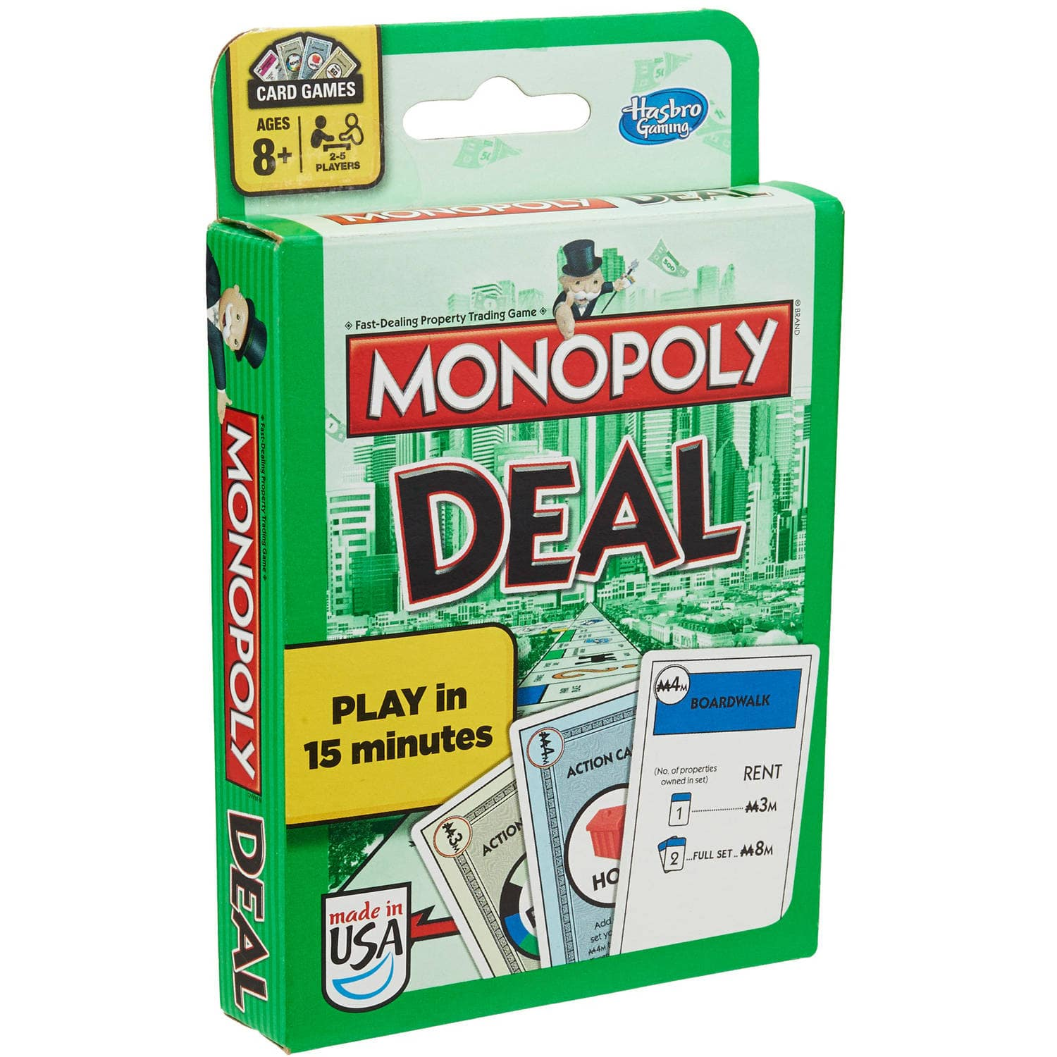 Monopoly Deal Card Game $3.99 @Amazon