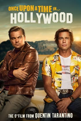 Once Upon a Time in Hollywood 4K streaming for $9.99 purchase or $2.99 rental