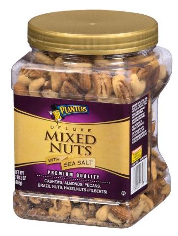 Planters 2lb Premium Unsalted Cashews (bm only!) or Fancy Cashews w/ Sea Salt (store pickup) or  Deluxe Mixed Nuts w/Sea Salt (store pickup) - $10 or less @Walmart BM - YMMV
