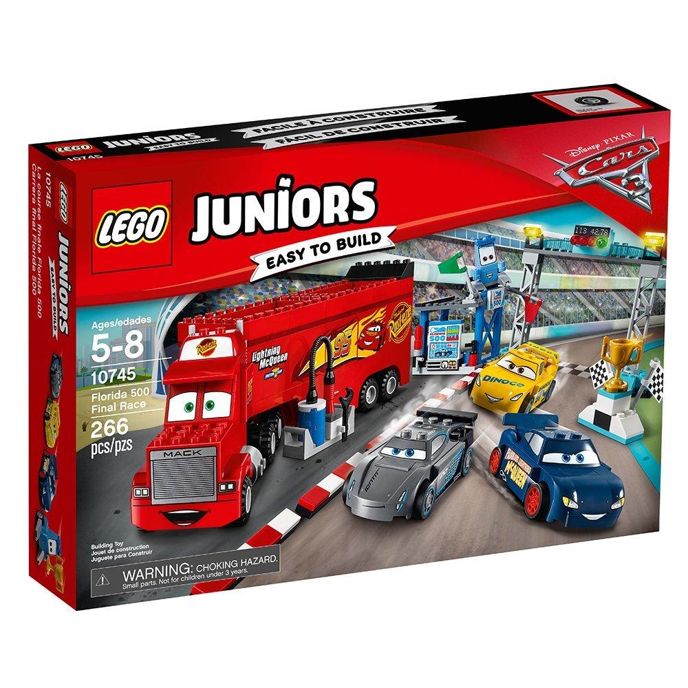 LEGO® Juniors Disney® Cars 3 Florida 500 Final Race 10745 - $40.49 + free LEGO Christmas Tree w/ Free Shipping