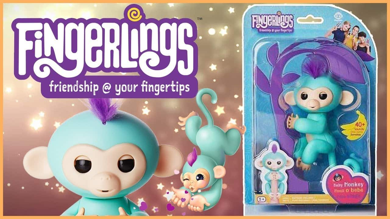 Fingerlings - Zoe (Turquoise with Purple Hair) in stock at Amazon