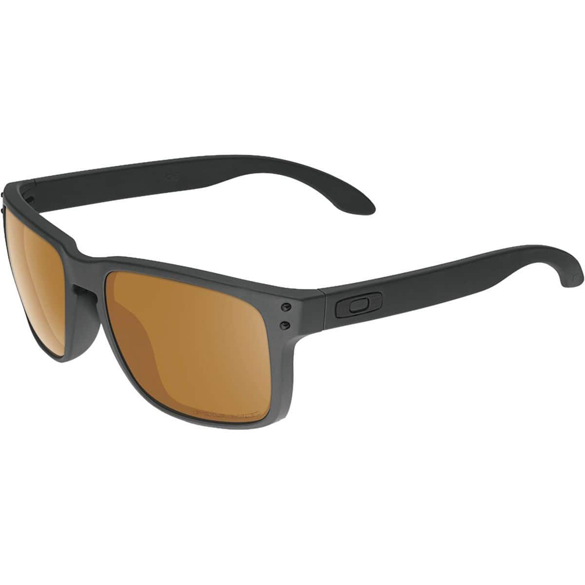 c85500f362 Oakley Holbrook Bronze Polarized Sunglasses (Matte Black ...