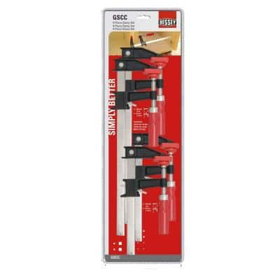 BESSY 4-piece clutch clamp set $19.97 +FREE in-store pickup