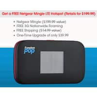 FreedomPop Deal: Freedompop upgrade Wimax hotspot to Netgear Mingle LTE hotspot for $30 or $40 - YMMV