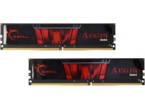 G-SKILLAegis 16 GB 2x8GB-288-Pin-DDR4-SDRAM-DDR4-2400-PC4-19200-Intel-Z170 $139.98