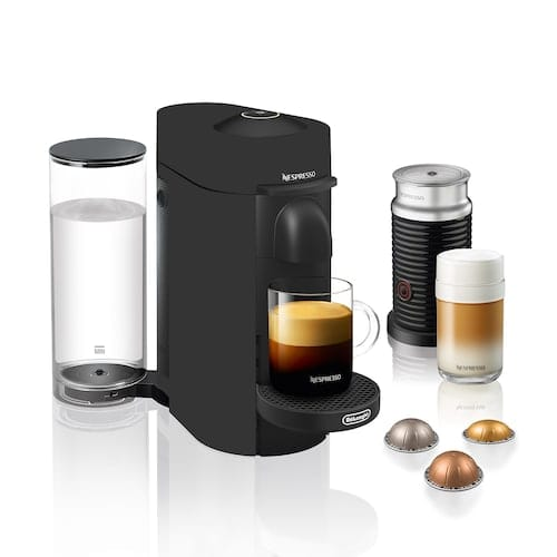 Nespresso Vertuo Plus Coffee & Espresso Machine with Aeroccino Milk Frother for $99.99 with free shipping and $30 Kohl's Cash