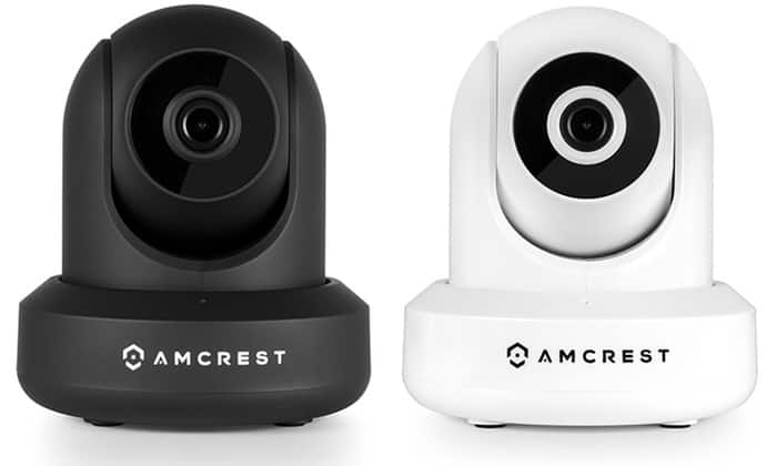 Amcrest ProHD 1080p Full HD Video Monitoring Security Wireless IP Camera with WiFi, Pan/Tilt, and Two-Way Audio  $78.99 via Groupon