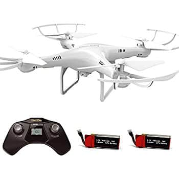 Cheerwing CW4 Drone W/Cam, Alt Hold, 2 Batteries $23.15 Shipped [Amazon Lightening Deal]
