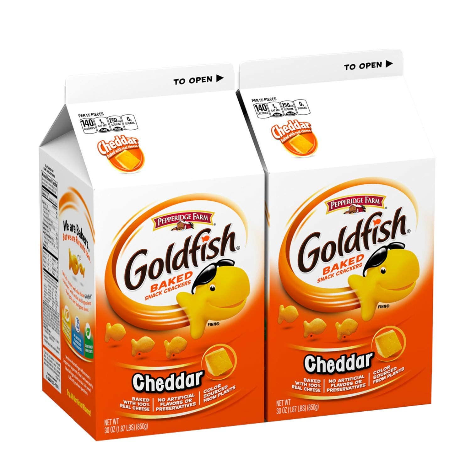 2-Count 30oz Pepperidge Farm Goldfish Cheddar Crackers $8.60 w/ Subscribe & Save