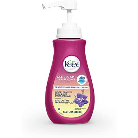 Veet Deals: 3-Pk 13.5oz. Gel Hair Remover Cream (Sensitive Formula) $14.65 & MORE at Amazon