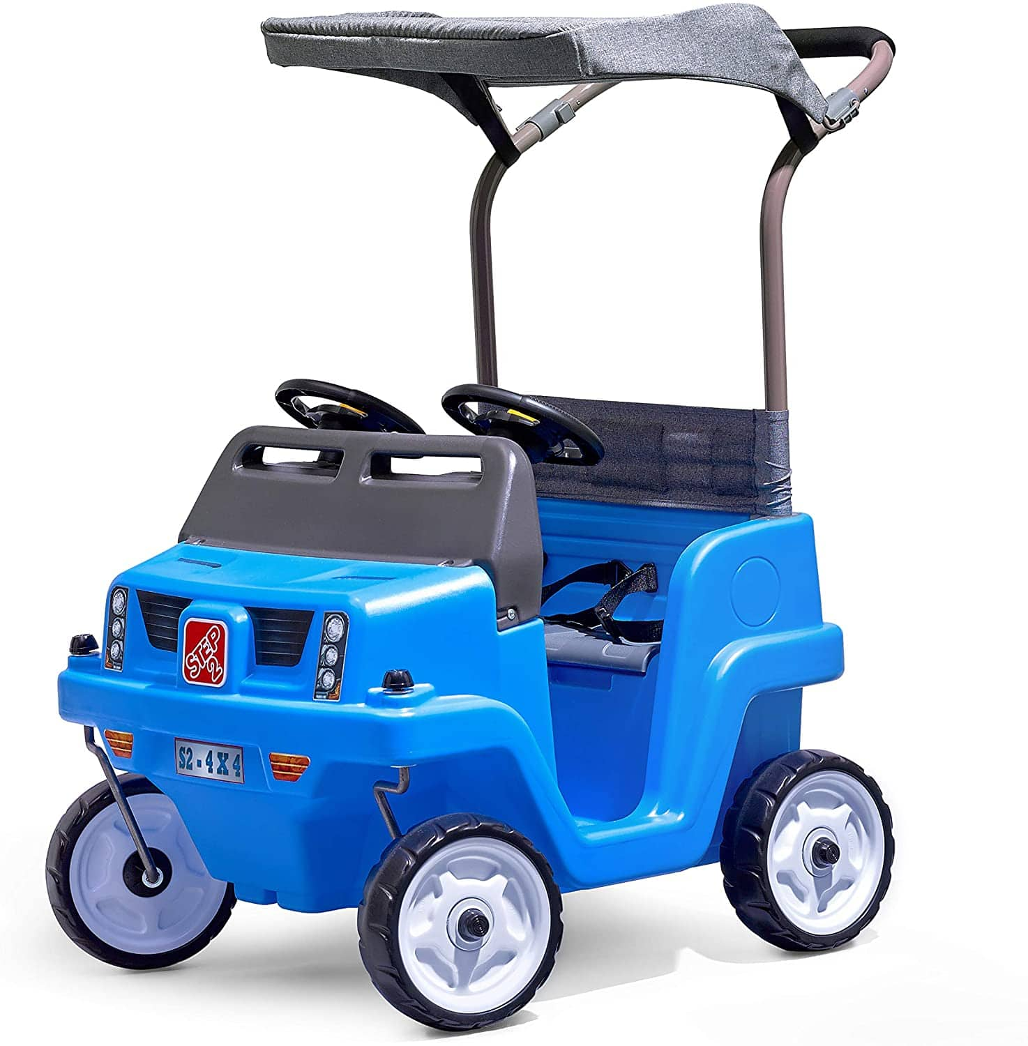 Step2 Side-by-Side Push Around SUV Two-Seater Push Car $110 at Amazon