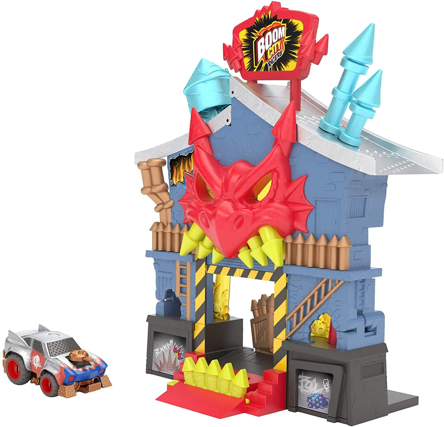 Boom City Racers Fireworks Factory 3-in-1 Transforming Playset $8.98 at Amazon