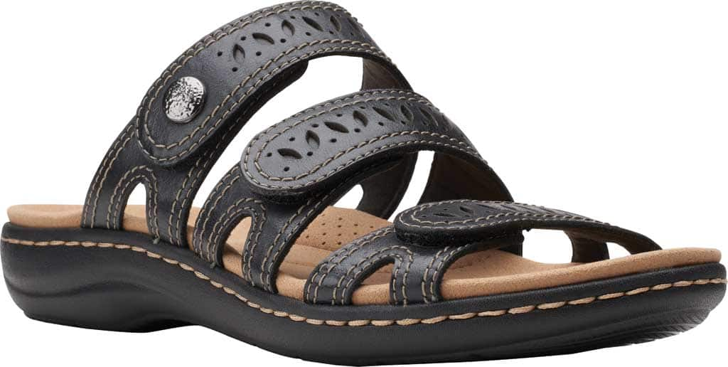 Clarks Women's Laurieann Dee Strappy Slide $47.55 + Free S/H at shoes.com