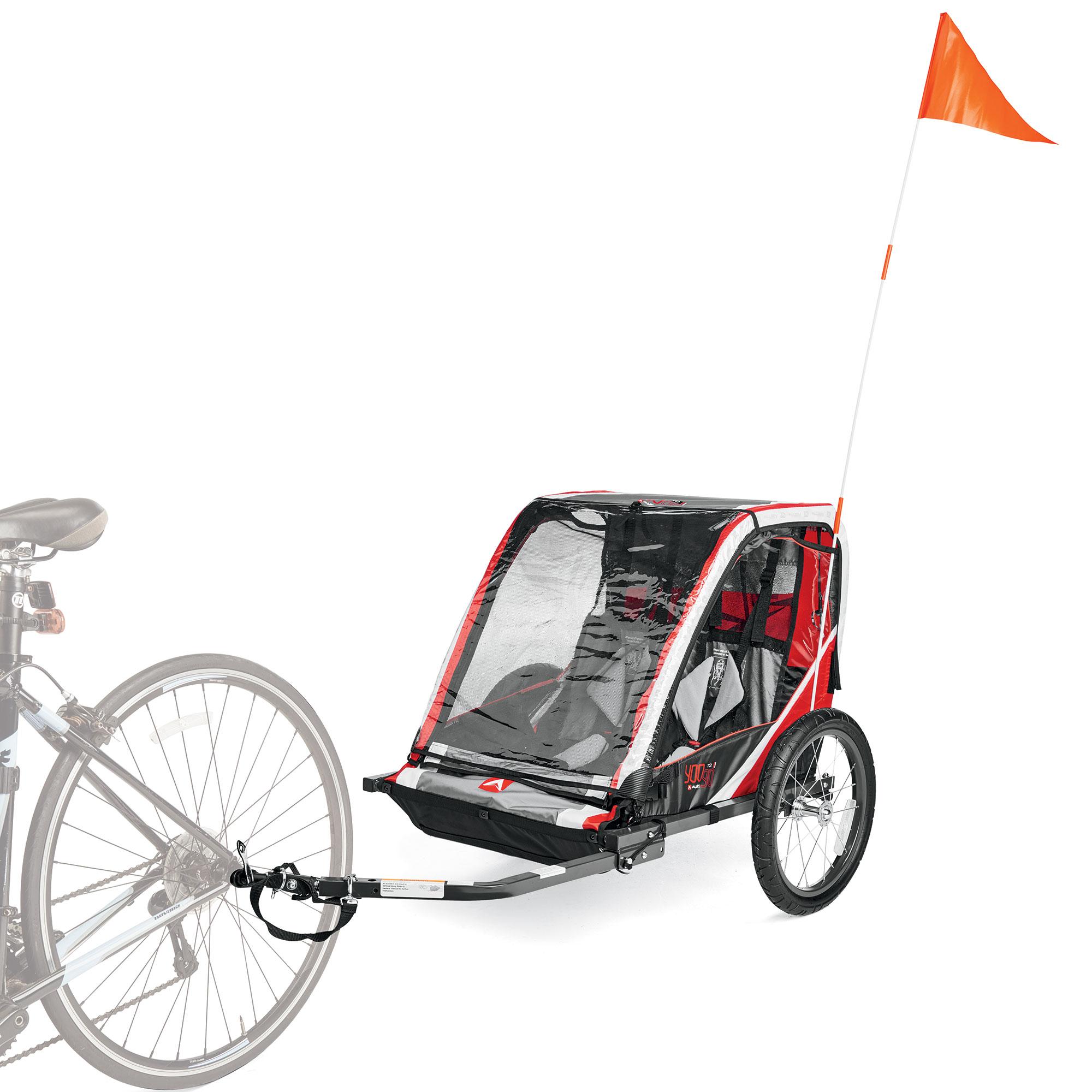 Allen Sports T2 2-Child Steel Bicycle Trailer (Red) $99 at Walmart