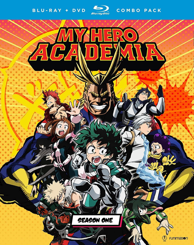 My Hero Academia: Season One (Blu-ray) $22.33 at Amazon