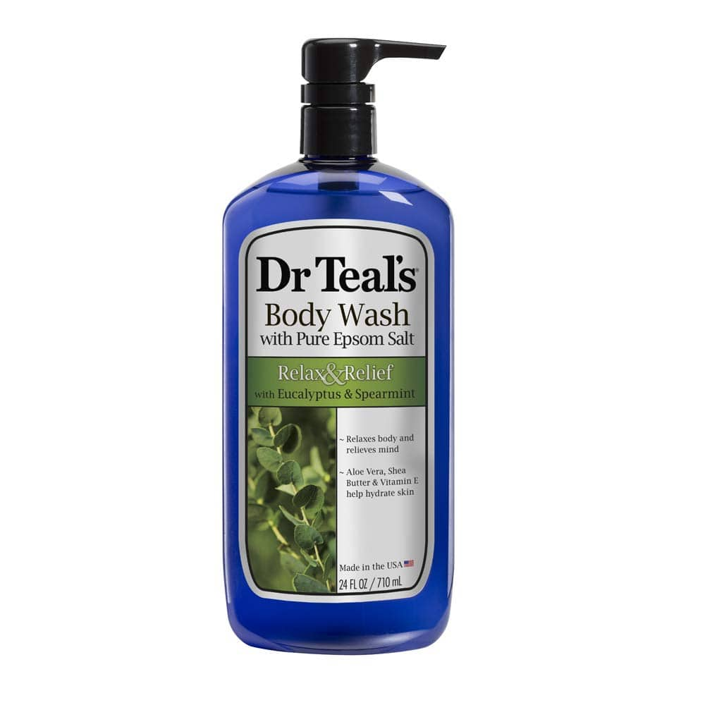 24-Oz Dr Teal's Ultra Moisturizing Body Wash (Eucalyptus Spearmint) $3.65 at Amazon