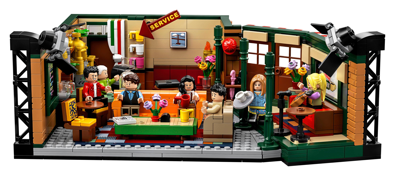 1070-Piece LEGO Ideas Friends Central Perk Building Set $48 + Free Shipping