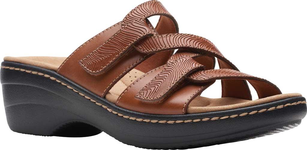 Clarks Women's Merliah Karli Wedge Slide Sandal $40.90 at Shoes.com