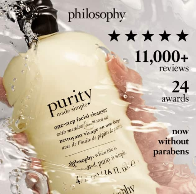 Philosophy: 35% Off Select Beauty Products + Free Shipping