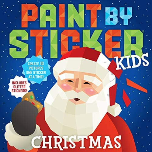 Paint by Sticker Kids: Christmas $4.78 / Zoo Animals $5.00 at Amazon