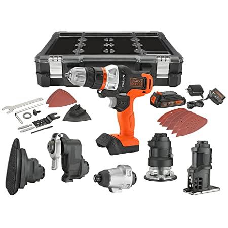 Black+Decker 6-Tool 20V Max Li-ion Cordless Matrix Combo Kit w/ Storage Case $159 + Free Shipping