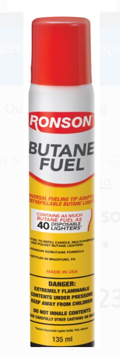 2.75-Oz Ronson Multi-Fill Butane Fuel $2.25 + Free Store Pickup