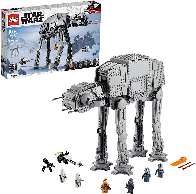 1267-Piece LEGO Star Wars AT-AT Building Kit $141 + Free Shipping
