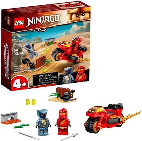 LEGO NINJAGO Legacy Kai's Blade Cycle Ninja Motorcycle Playset $6.99 at Best Buy
