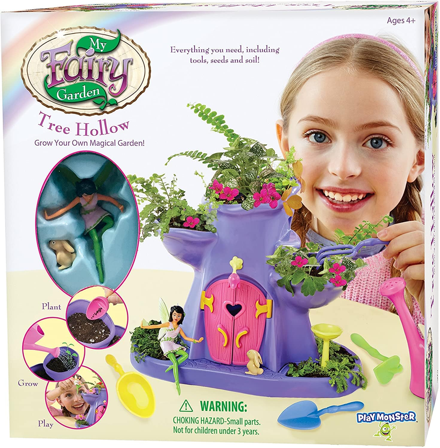 My Fairy Garden - Tree Hollow w/Seeds $11.40 Free Shipping w/ Amazon Prime or Orders $25+