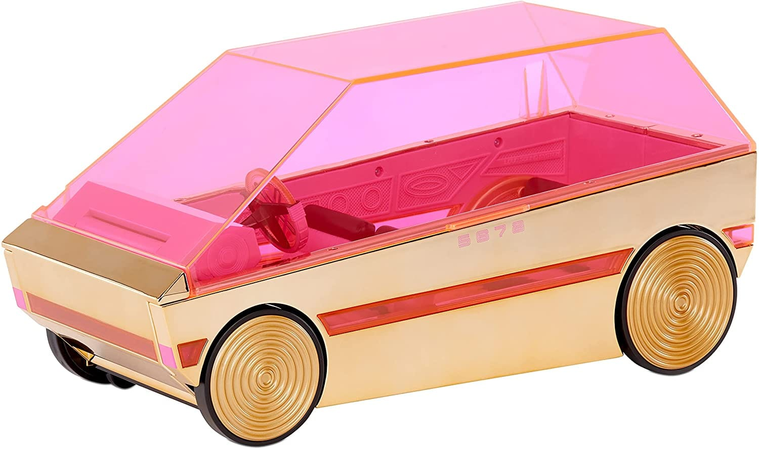 LOL Surprise 3-in-1 Party Cruiser Car with Surprise Pool, Dance Floor, Magic Black Lights $22.24 Target / Amazon