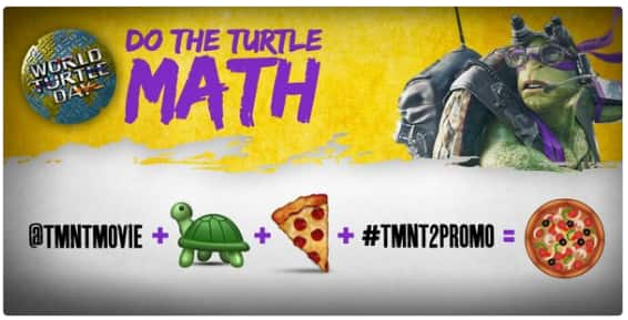 Free Pizza Delivered - TMNT2 Promo - Twitter - Void In FL, NY, RI (First 2,000)