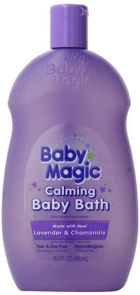 Baby Magic Calming Baby Bath, Lavender and Chamomile, 16.5 Ounces (Pack of 6) *Amazon* $3.13