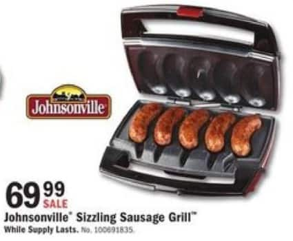Mills Fleet Farm Black Friday: Johnsonville Sizzling Sausage Grill for $69.99