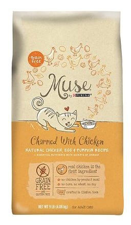 Muse Rewards Program From Purina - Free Cat Food If Sign Up Before 8/16