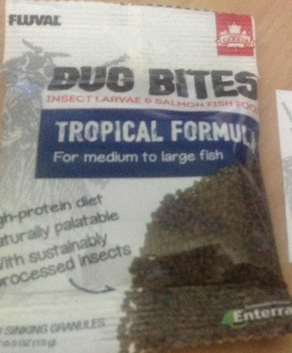 Free Sample Fluval Bug Bites Fish Food